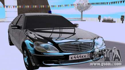Mercedes-Benz S-class W220 for GTA San Andreas