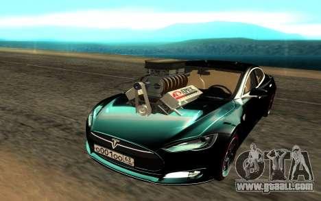Tesla Model S for GTA San Andreas