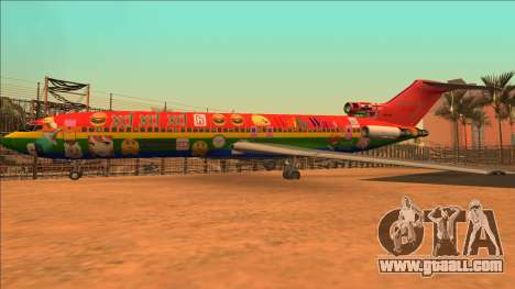Boeing 727-200 Waifu Wars Edition for GTA San Andreas