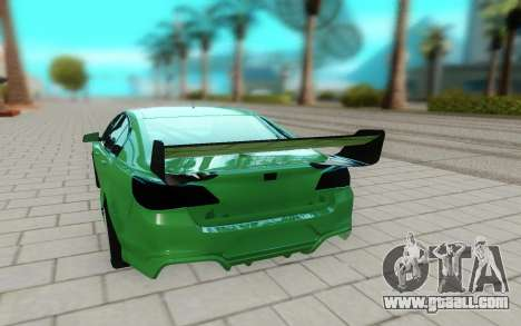 Holden Commodore for GTA San Andreas back view