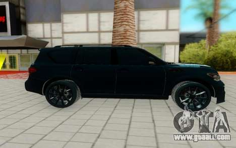 Infiniti QX56 for GTA San Andreas left view