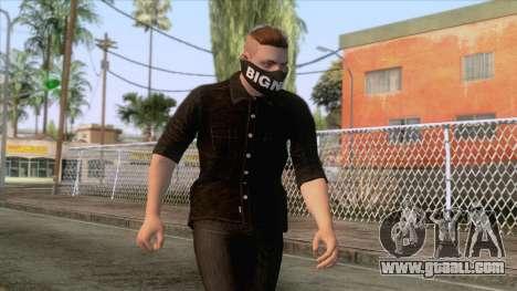GTA Online Skin 3 for GTA San Andreas