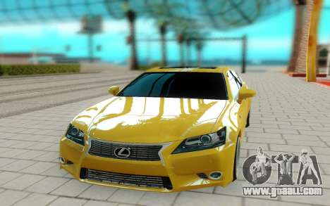 Lexus GS 350F for GTA San Andreas right view