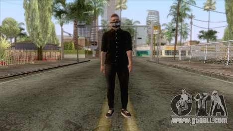 GTA Online Skin 3 for GTA San Andreas second screenshot