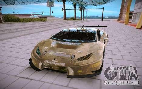 Lamborghini Huracan GT3 for GTA San Andreas