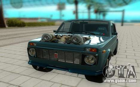 Niva 2121 for GTA San Andreas