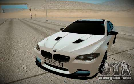 BMW M5 F10 for GTA San Andreas right view