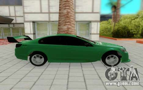 Holden Commodore for GTA San Andreas left view
