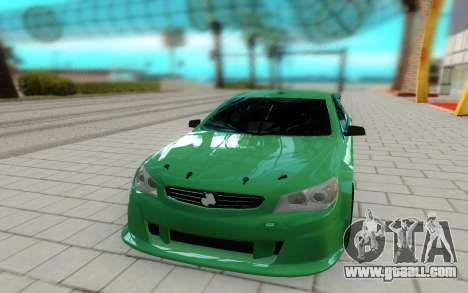 Holden Commodore for GTA San Andreas right view