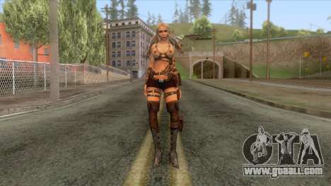 Ayumi Blade of Time Reskinned for GTA San Andreas