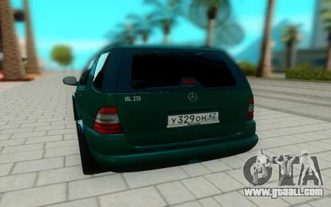 Mersedes-Benz ML 230 for GTA San Andreas back view