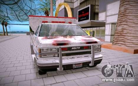 GTA 5 Ambulance for GTA San Andreas