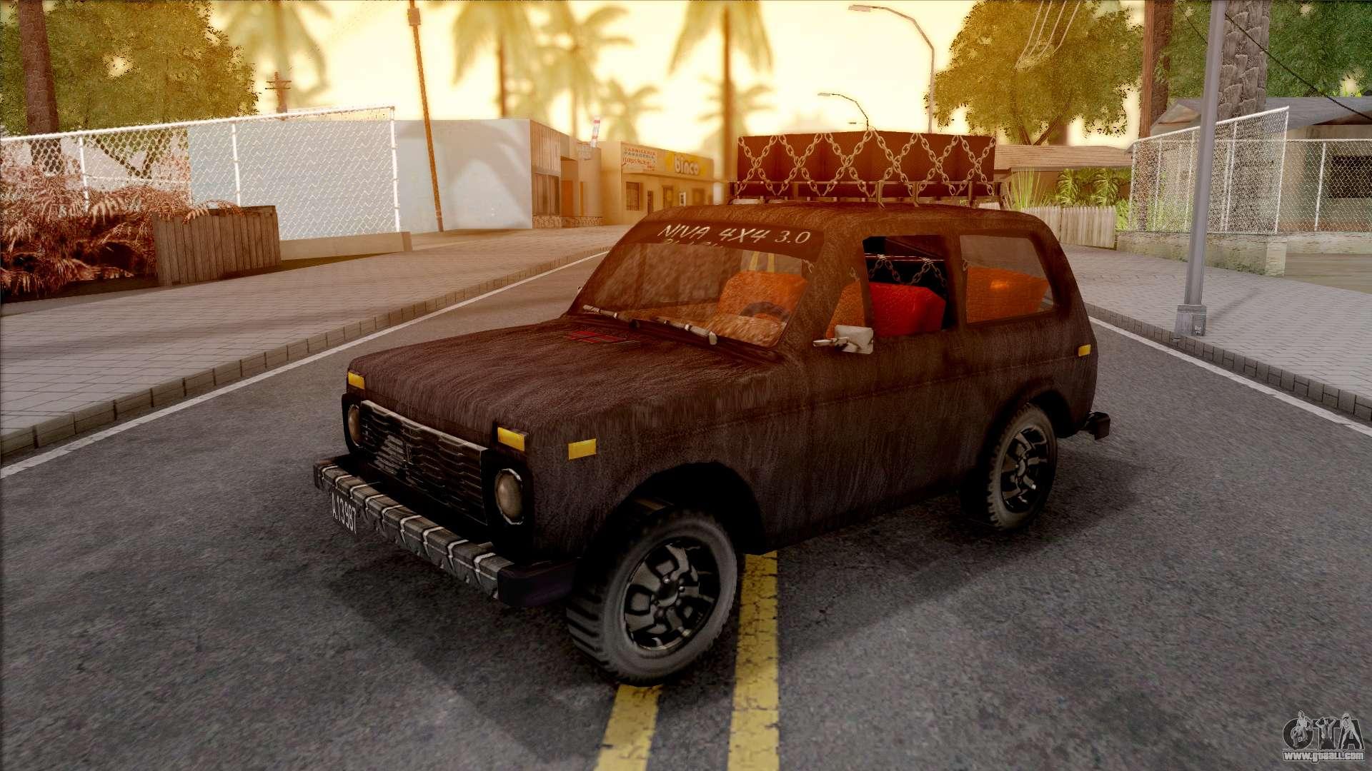 Lada niva 1971 black edition 3 0 for gta san andreas for Lada 09 salon