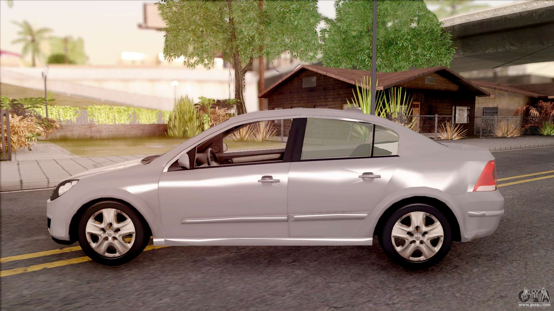 opel astra h sedan for gta san andreas. Black Bedroom Furniture Sets. Home Design Ideas