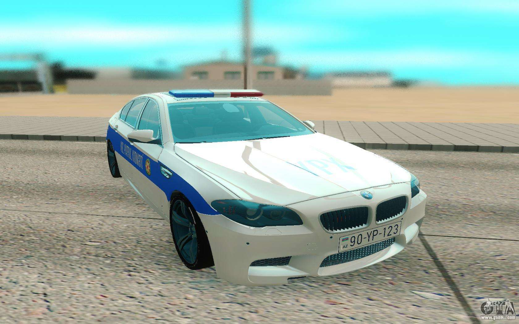 Bmw 5-Er F10 for GTA San Andreas