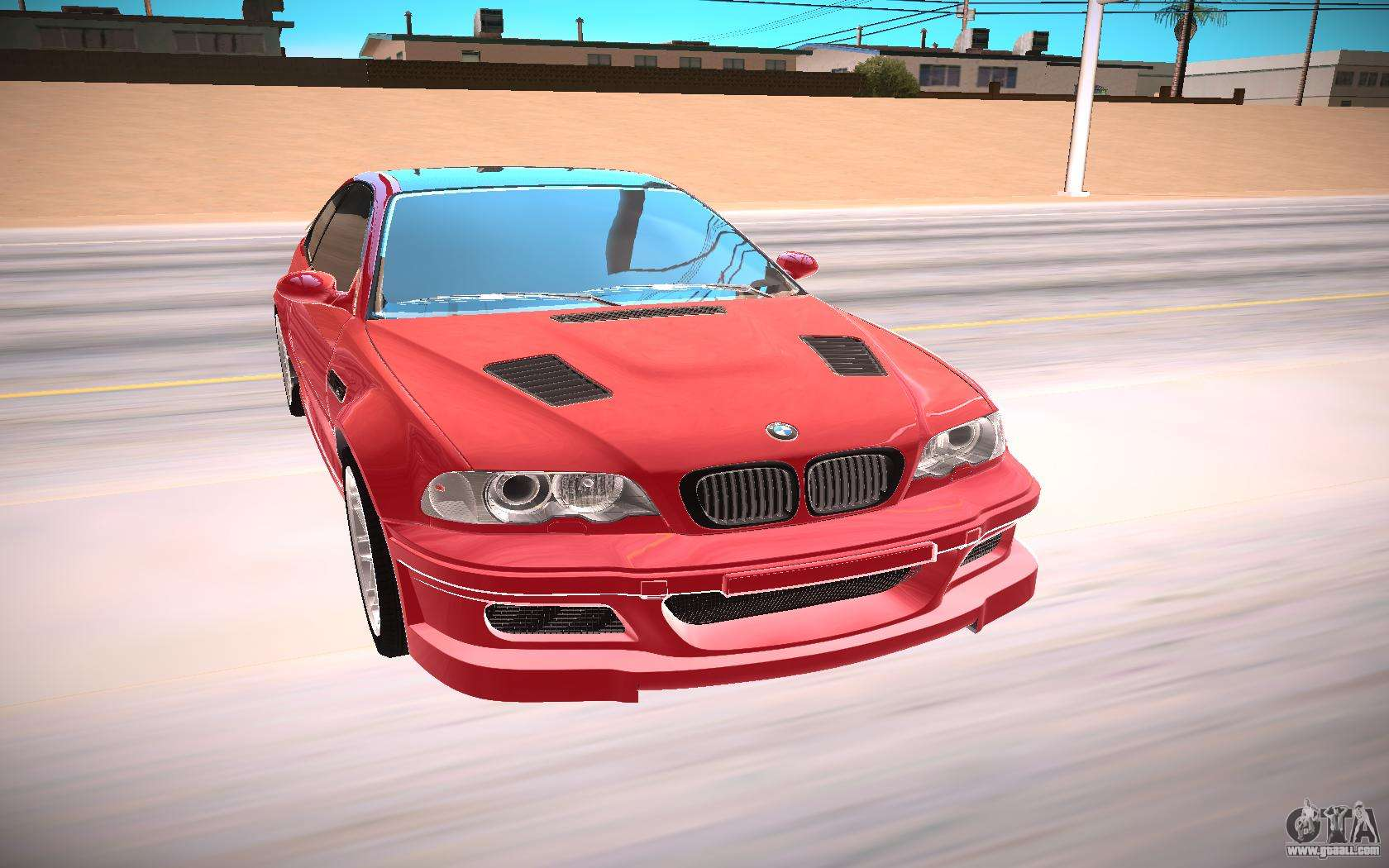 bmw e46 m3 gtr for gta san andreas. Black Bedroom Furniture Sets. Home Design Ideas