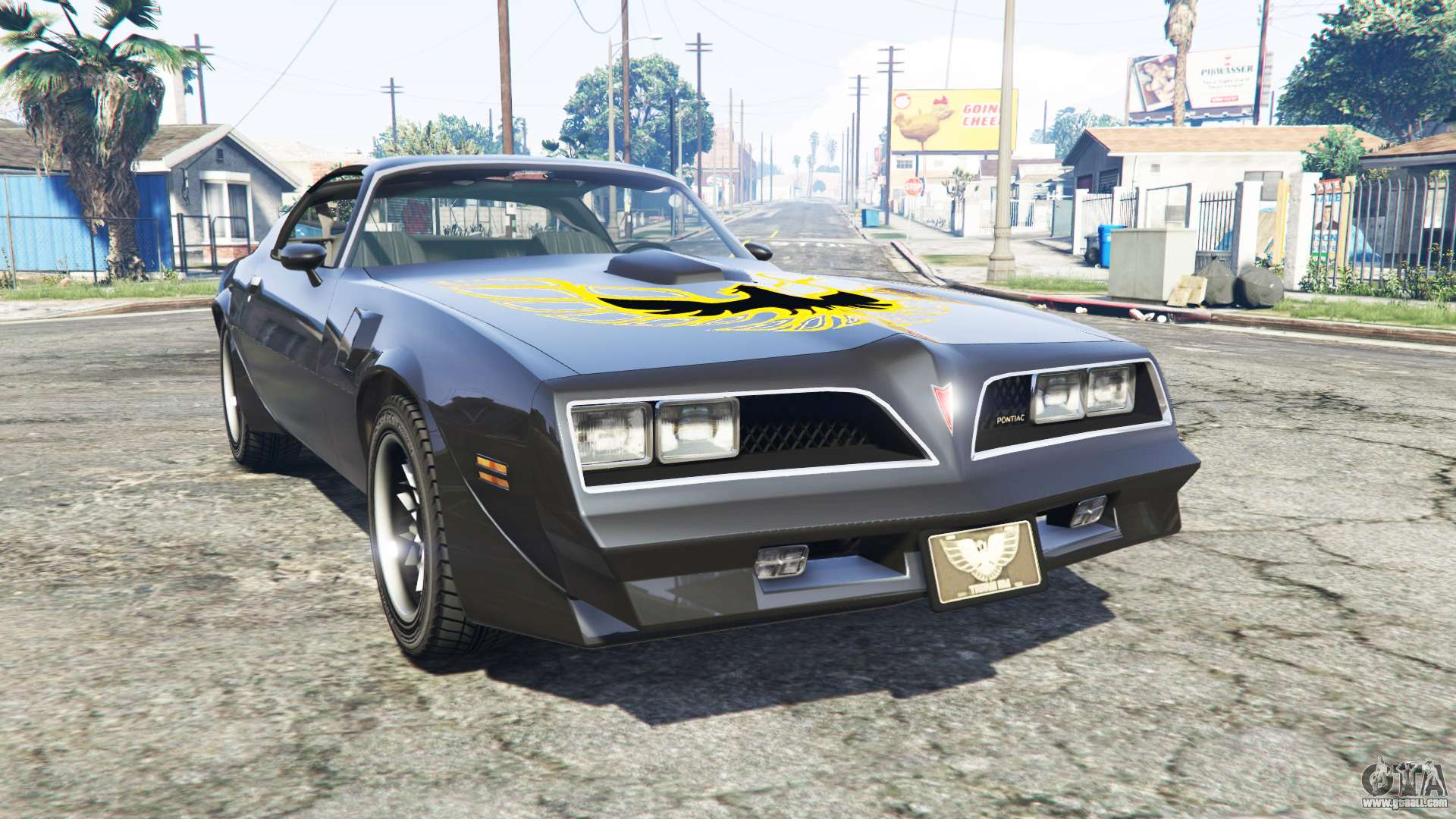 pontiac firebird trans am 1977 v3 0 replace for gta 5. Black Bedroom Furniture Sets. Home Design Ideas
