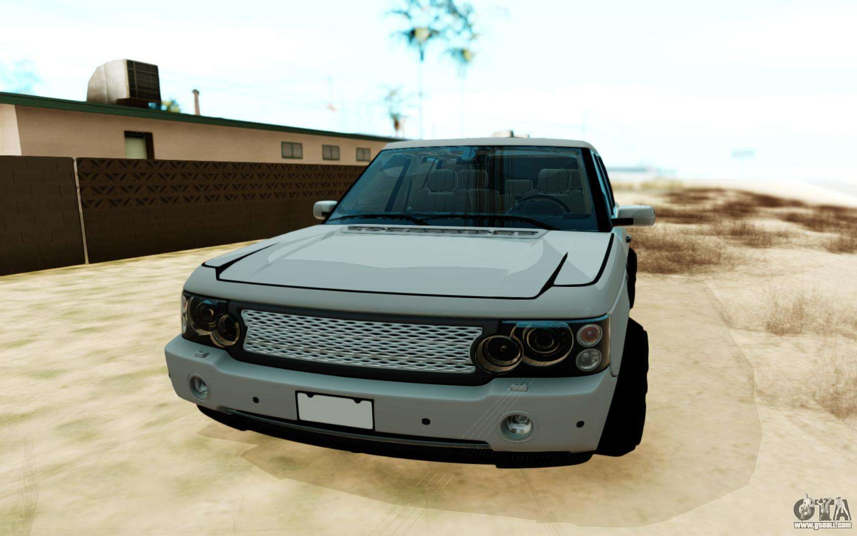 range rover vogue for gta san andreas. Black Bedroom Furniture Sets. Home Design Ideas