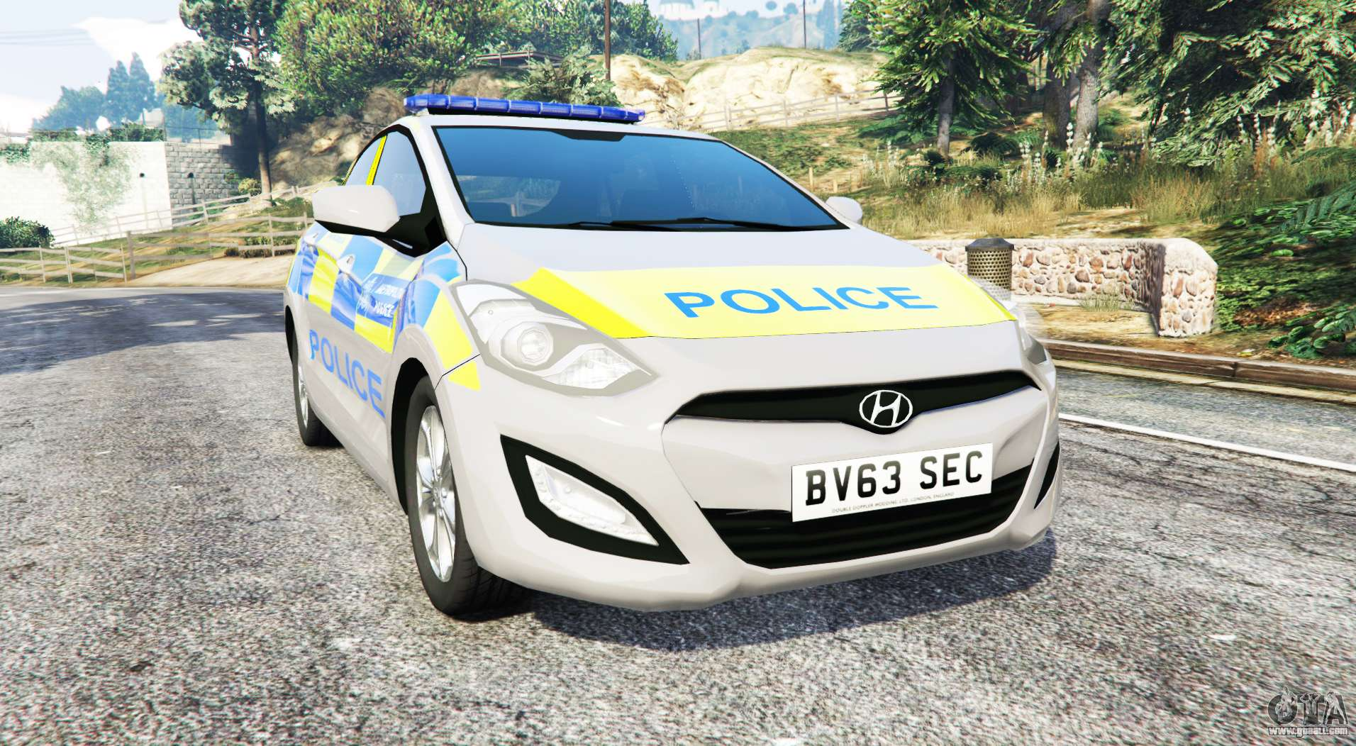 hyundai i30 gd metropolitan police replace for gta 5. Black Bedroom Furniture Sets. Home Design Ideas