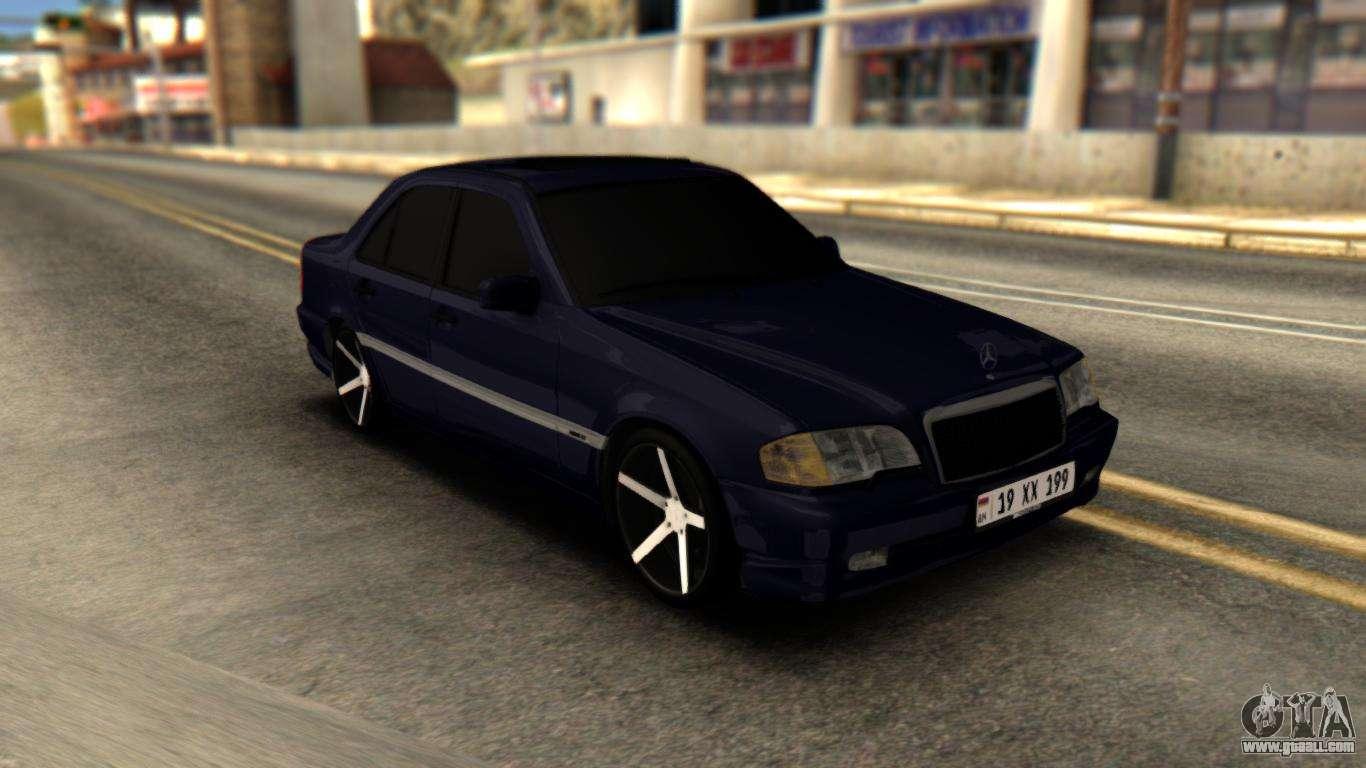 Mercedes benz c230 for gta san andreas for Mercedes benz c230