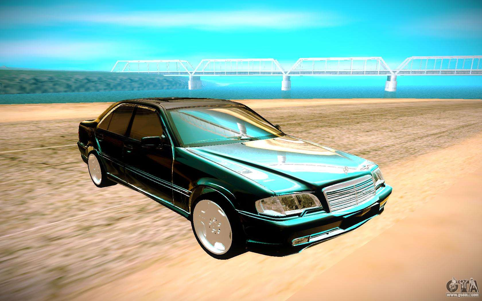 Mercedes-Benz C-Class for GTA San Andreas