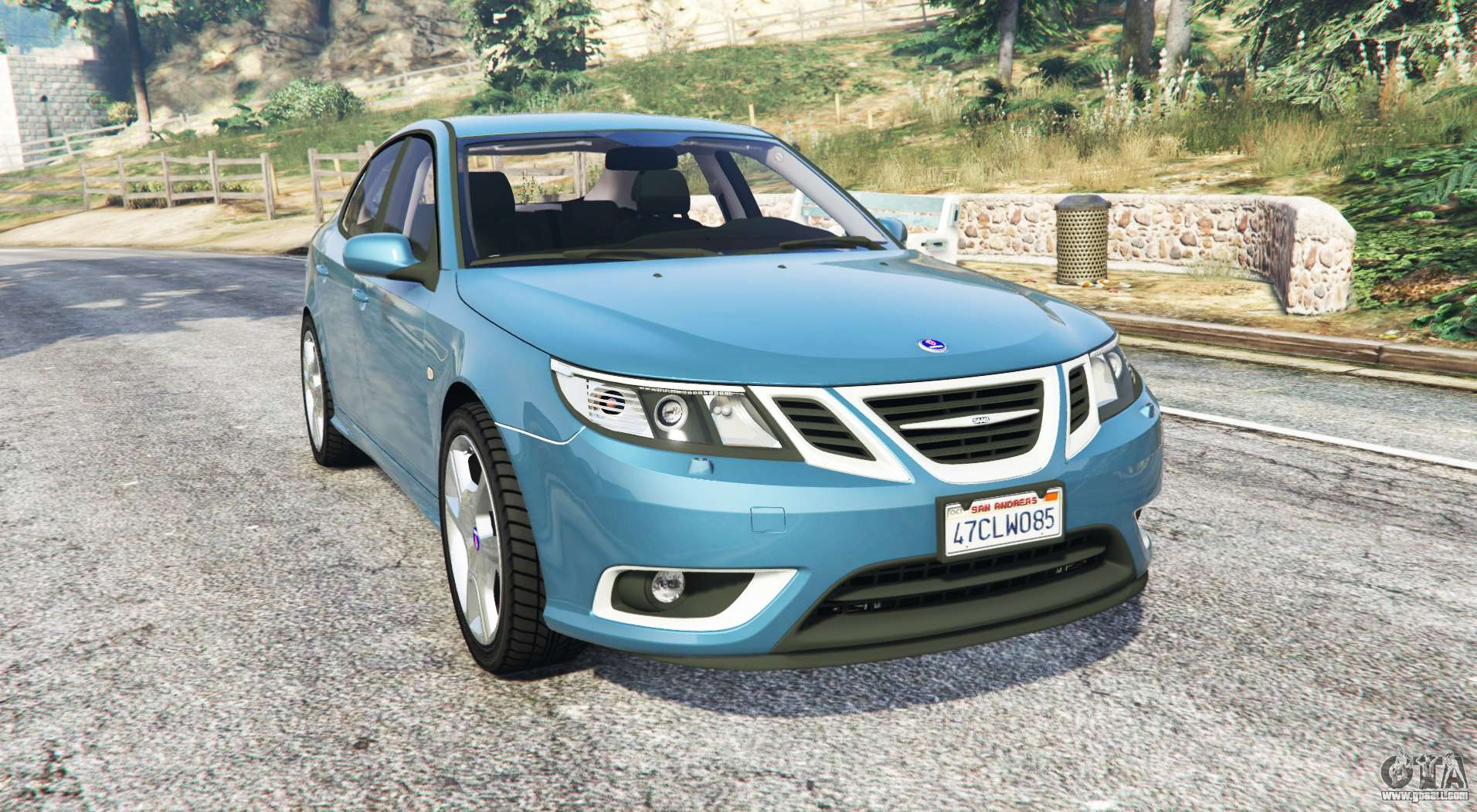 saab 9 3 turbo x replace for gta 5. Black Bedroom Furniture Sets. Home Design Ideas