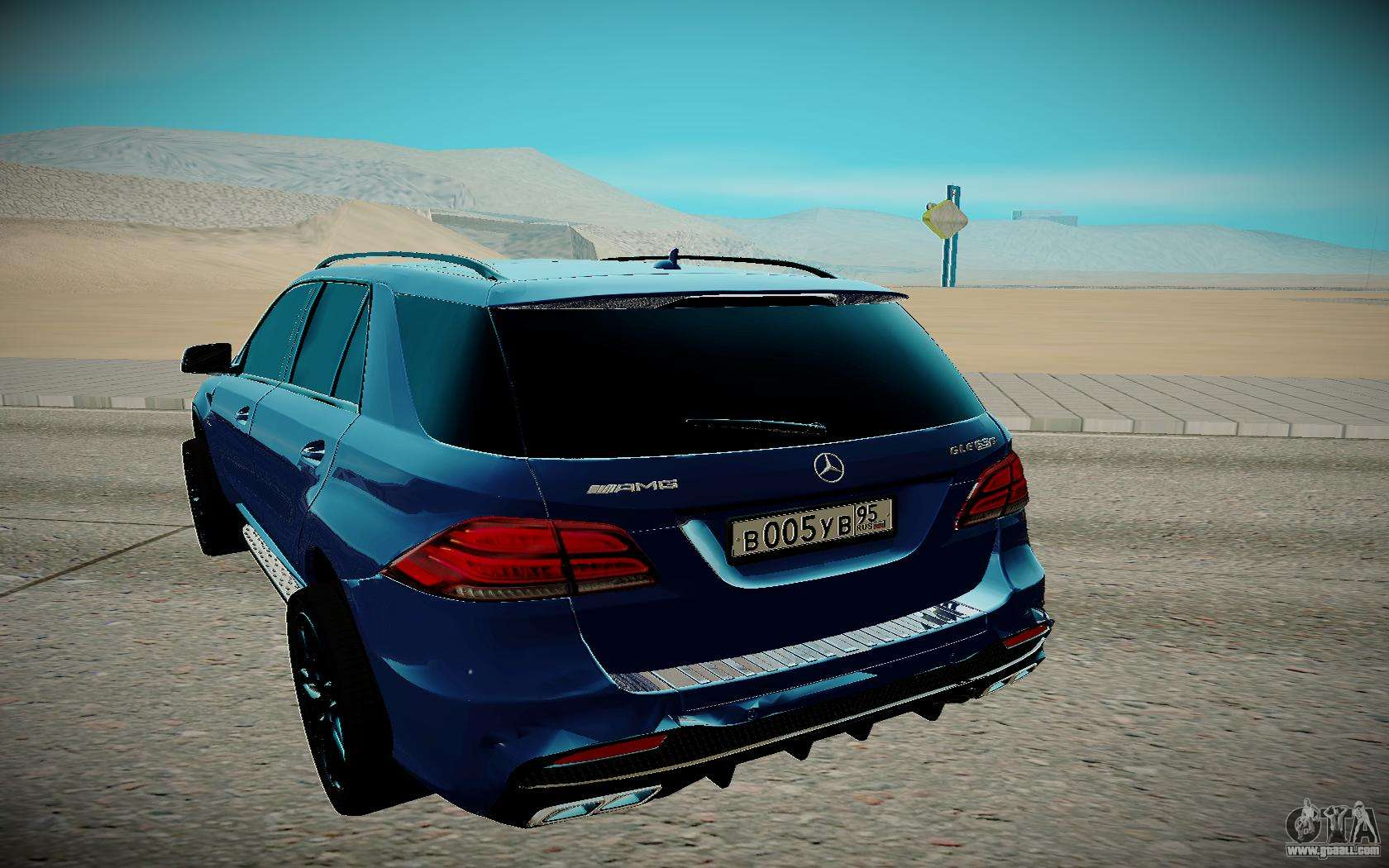 Mercedes benz gl 63 amg for gta san andreas for Mercedes benz gl 63 amg