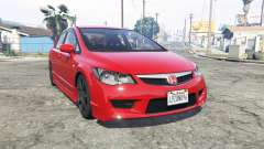 Honda Civic Type-R (FD2) 2008 [add-on] for GTA 5