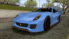 Ferrari GTO 599XX for GTA San Andreas