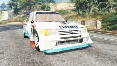 Peugeot 205 T16 [replace] for GTA 5