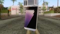 Samsung Galaxy Note 7 White for GTA San Andreas