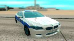BMW M5 F10 white for GTA San Andreas