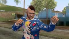Christmas GTA Online Skin for GTA San Andreas