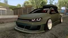 Volkswagen Golf R Pandem Rocket Bunny 2014 for GTA San Andreas