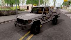 Toyota Land Cruiser J79 for GTA San Andreas