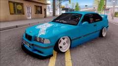 BMW 3-er E36 Blue 4.0i for GTA San Andreas