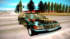 Mercedes-Benz W140 600SEL for GTA San Andreas