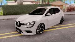 Renault Megane 4 Hatchback Low Poly for GTA San Andreas