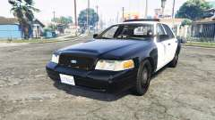 Ford Crown Victoria Los Santos Police [replace] for GTA 5