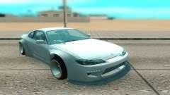 Nissan Silvia S15 белый for GTA San Andreas