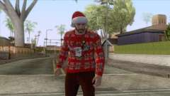 GTA Online - Christmas Skin 1 for GTA San Andreas