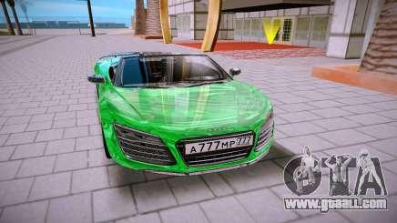 Audi R8 Spyder 5 2 V10 Plus for GTA San Andreas