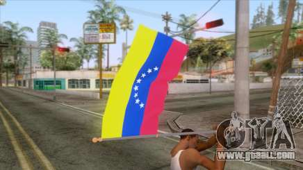 Flag of Venezuela v2.0 for GTA San Andreas