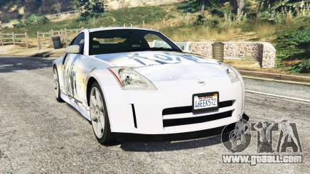 Nissan 350Z (Z33) [replace] for GTA 5