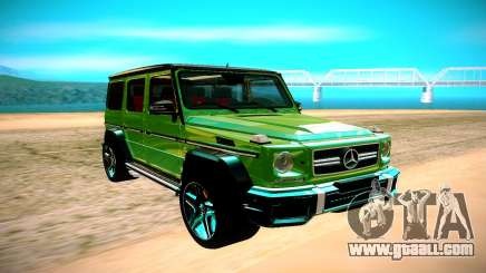 Mercedes AMG G63 Crazy Color Edition for GTA San Andreas