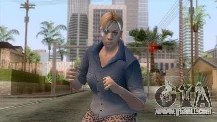 Jill Casual Skin v4 for GTA San Andreas