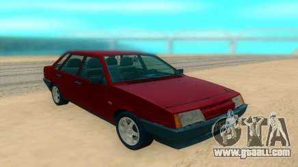VAZ 21099 red for GTA San Andreas