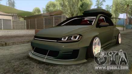 Volkswagen Golf R Pandem Rocket Bunny 2014 for GTA San Andreas