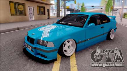 BMW 3-er E36 Blue 4.0i for GTA San Andreas