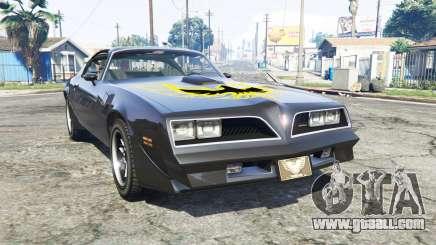 Pontiac Firebird Trans Am 1977 v3.0 [replace] for GTA 5